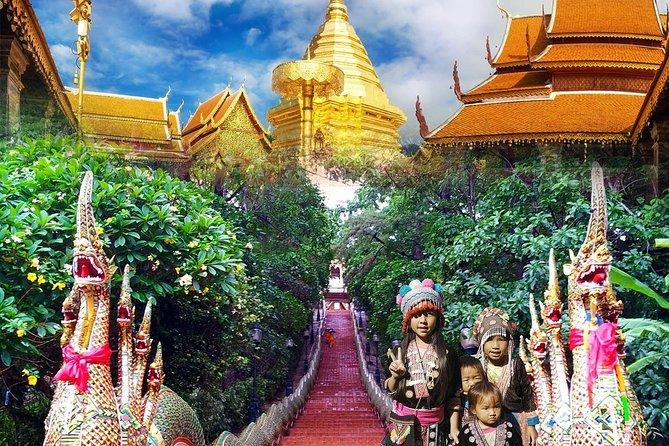 Wat Doi Suthep & White Meo (Hmong) Hilltribe