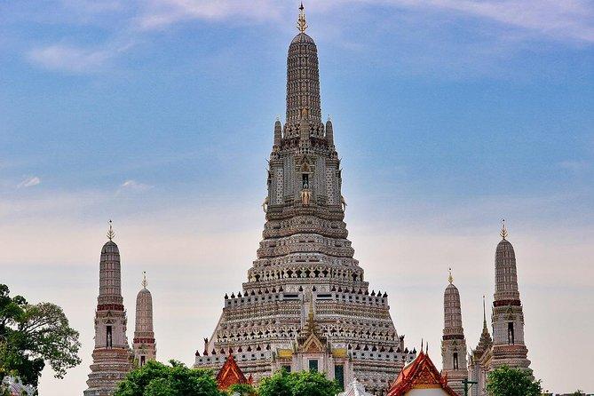 Visite de la ville de Bangkok avec Wat Arun