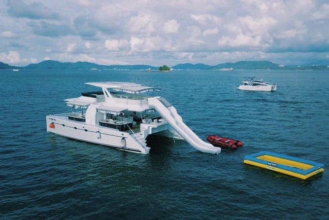 Sepanggar Island Luxury Boat