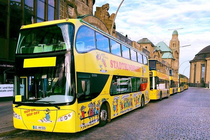 Hop-On Hop-Off Tour - Yellow Double Decker - GROUP TICKETS