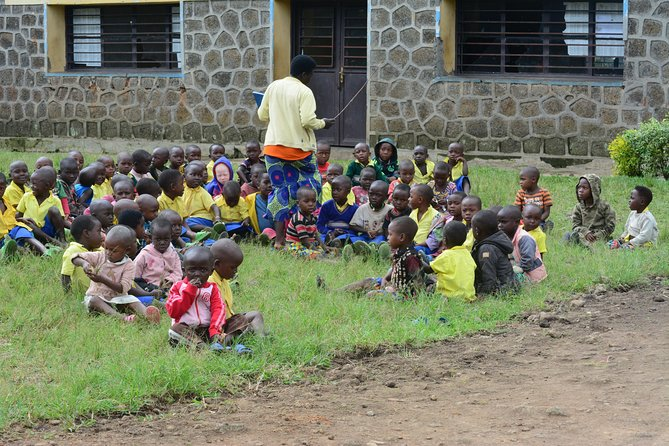 Nursery School where volunteers assist with their skills in teaching English