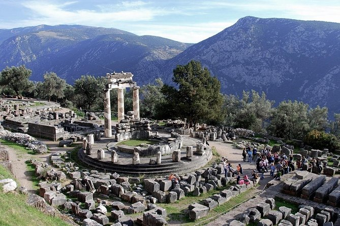 Delphi Oracle; Apollo, the Navel and the Pythia