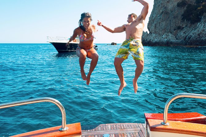 Capri Fun & Swim with Blue Grotto - Small Group from Sorrento photo 1