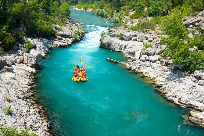 2 in 1: Quad Safari e Rafting Adventure da Alanya