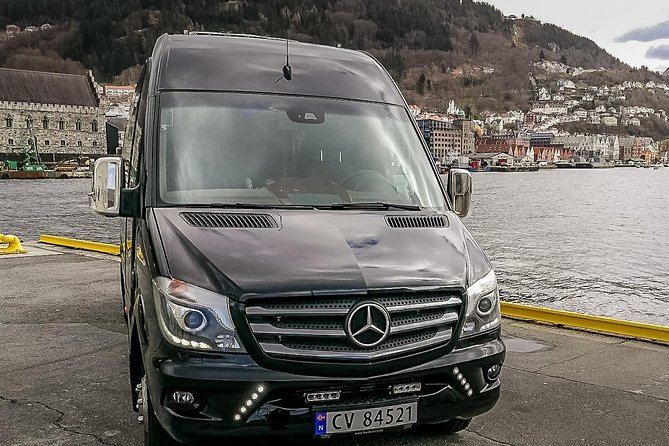 Private Transfer from Bergen Hotels & Cruise Ports - Bergen Airport 6-16 pax.