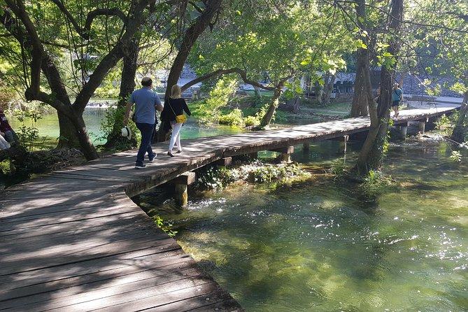 Krka Waterfalls half day, Private Tour from Sibenik