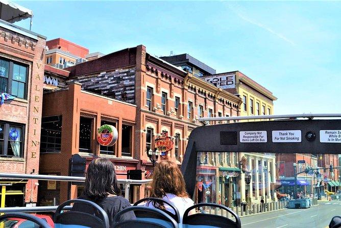 Best of Nashville City Tour on Double Decker Bus