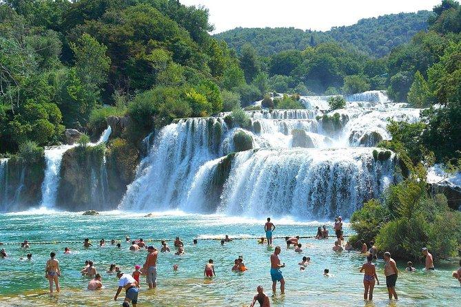 From Zadar: Krka Waterfalls and Sibenik City, Private Tour