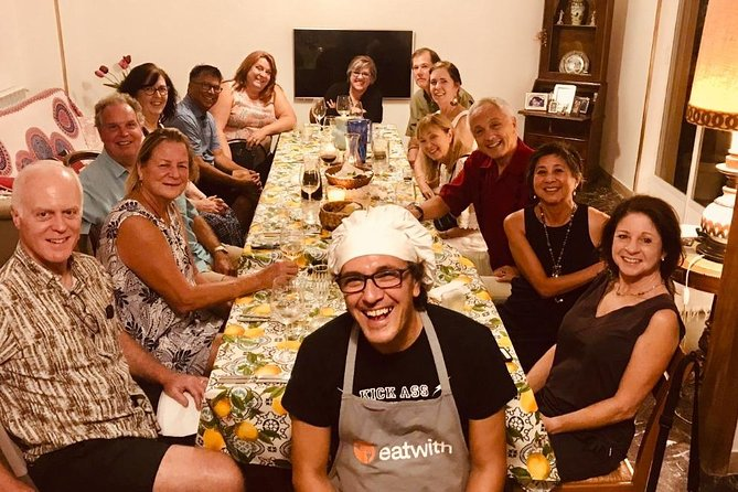 Sicilian cooking class and Palermo market tour for private groups