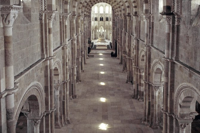 Summer solstice visits Basilica of Vézelay