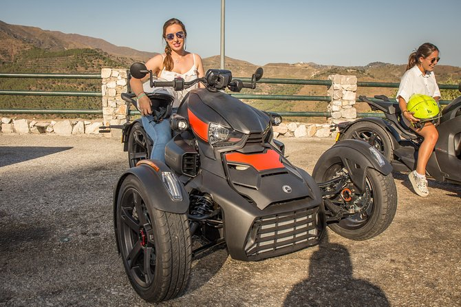 Guided Mountain Tour in Trikke