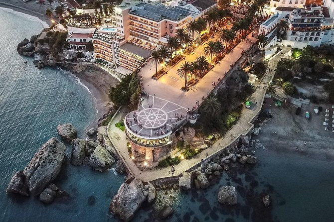 Tropical Coast and Caves of Nerja Day Trip with Lunch from Granada