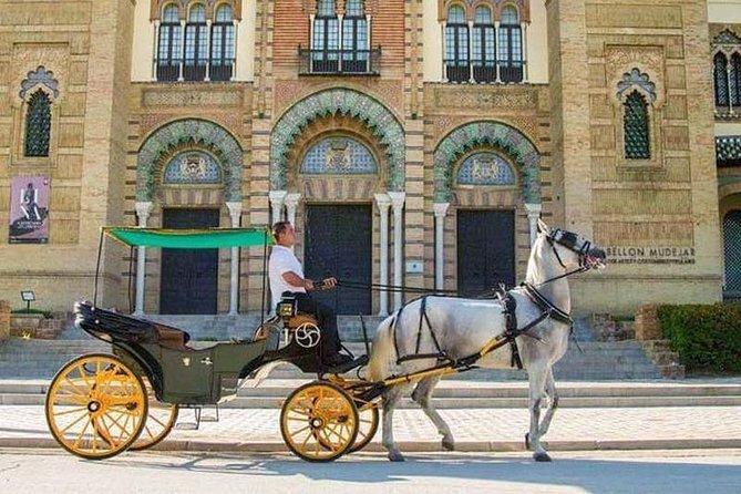 Horse-drawn carriage ride through Seville