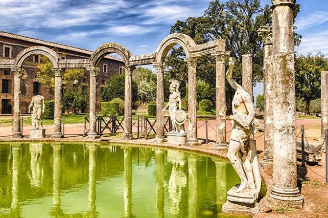 Day trip to Tivoli Villa d'Este and Hadrian's Villa from Rome
