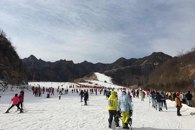 Private Beijing Huaibei Ski Resort Tour with Mutianyu Great wall and Olympic stadiums