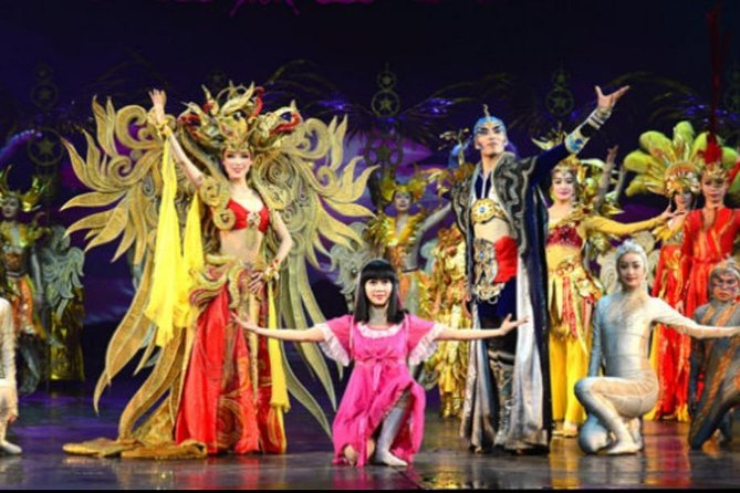 Beijing Night Golden Mask Dynasty Show Ticket with Guide and Pickup