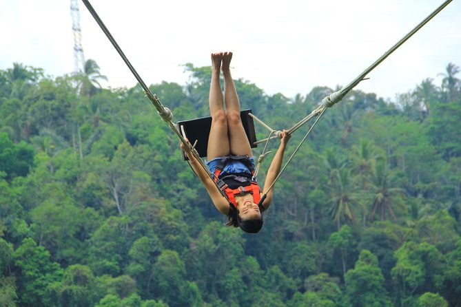 Nature Extreme Swing at Surya Bintang Adventure