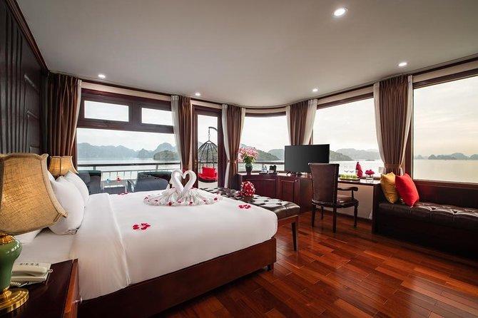 Dora Cruise 5 Star- 2 Days 1 Night (Halong Bay, Lan Ha Bay,Cat Ba)