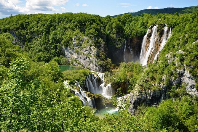 From Split or Trogir to Zagreb: Private Transfer with Plitvice Lakes