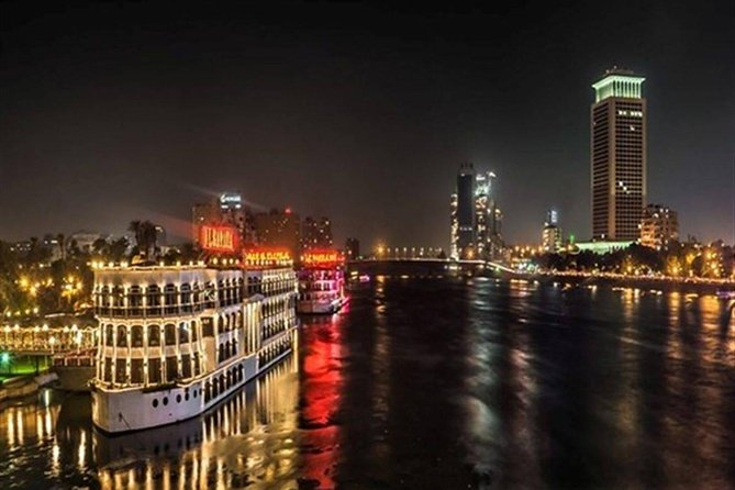 From Cairo: Dinner Cruise on the Nile River