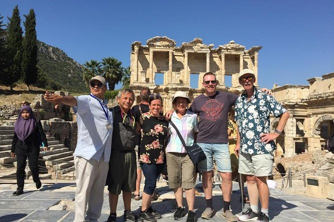 Ephesus Tours Port Kusadasi lunch guide bus shopping Caravanserai artemis