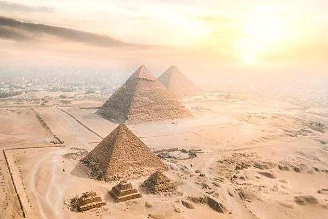 Cairo Pyramids From Por said port