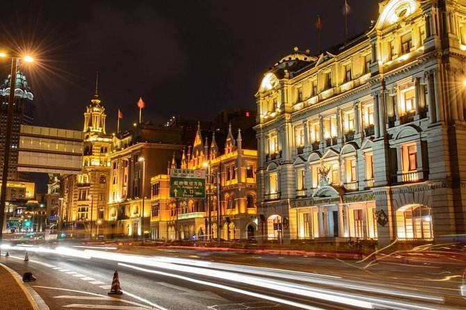 Shanghai Private Night Sightseeing Exploration Tour