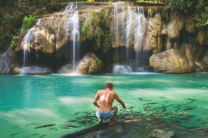 All Inclusive Mystical Waterfall and River Kwai Private Tour