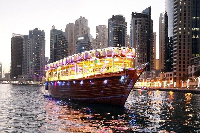 Dhow Dinner Cruise at Dubai Marina