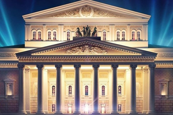 Moscow Treasures: the Bolshoi backstage, Red Square and Metropol