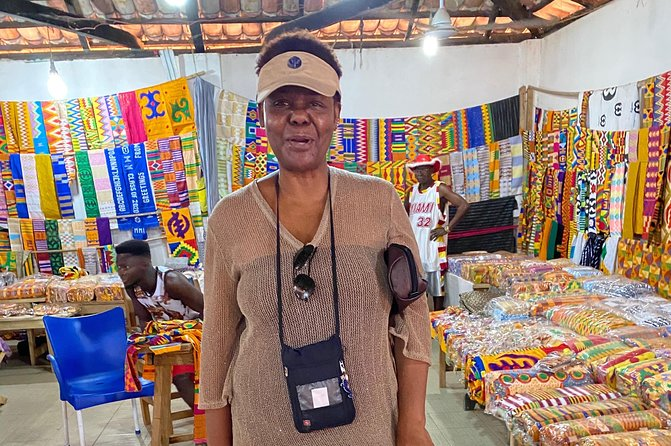 Kente Cloth Tour, Big Market & Adinkra Symbols Tour In Kumasi.