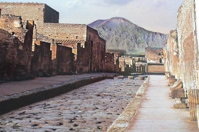 Pompeii, Vesuvius, light lunch wine tasting