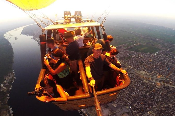 Amazing Hot Air Ballone Ride In Luxor