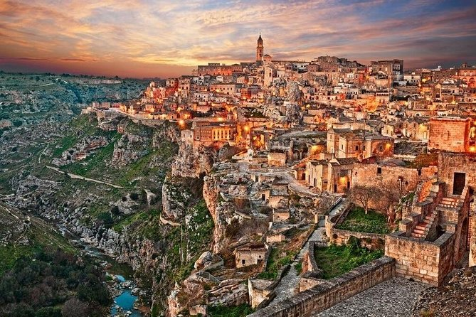 Matera tour by car or minivan from Bari