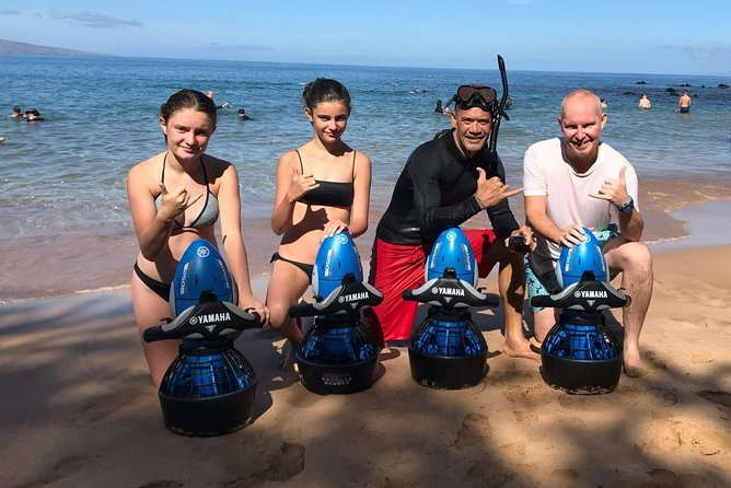 Private Sea Scooter Snorkeling Tour at Wailea beach