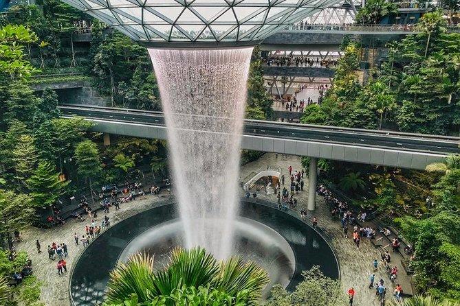 Singapore Changi Jewel Highlights Walking Tour