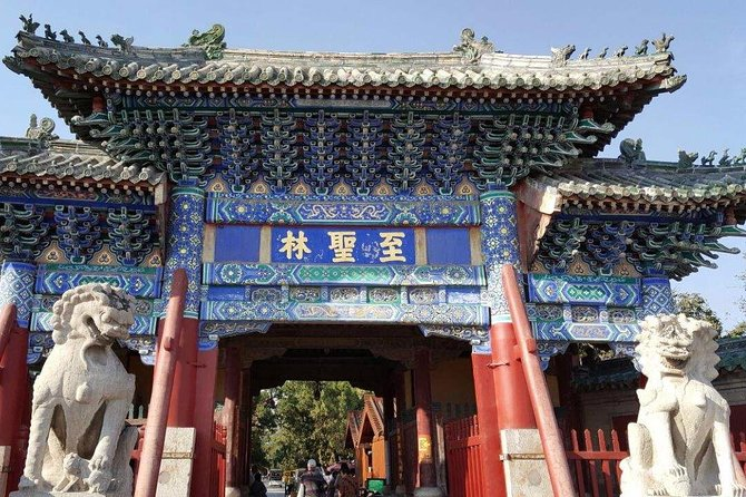 Confucius culture: Full-Day Bullet Train Trip to Qufu from Qingdao with Lunch