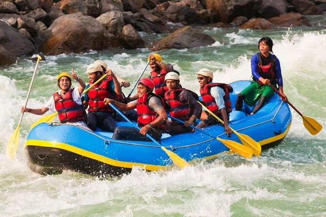 Rishikesh River Rafting and Camping Tour (1 Night / 2 Days)