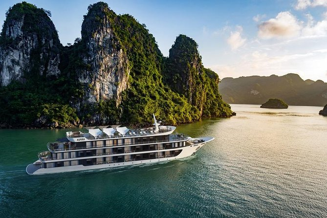 ASPIRA CRUISE - Ha Long Bay & Lan Ha Bay 2 Days 1 Night Luxurry Tour photo 4