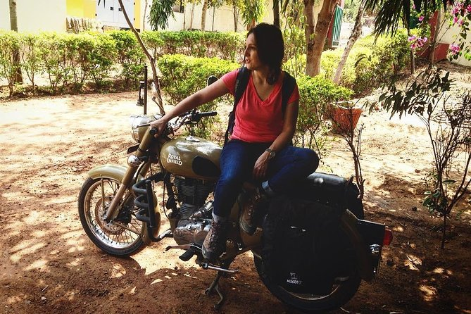 Delhi on a Motorbike