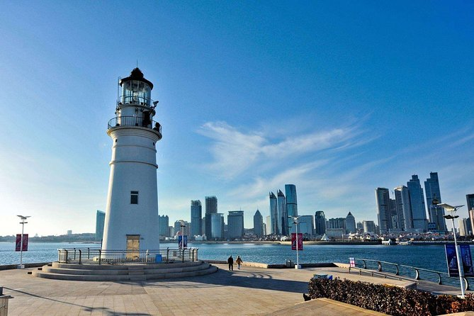 Jinan Private Bullet Train Trip to Discover Qingdao City Highlights