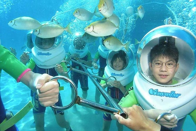 Nusa Dua Underwater Sea Walking Experience with Private Transfer