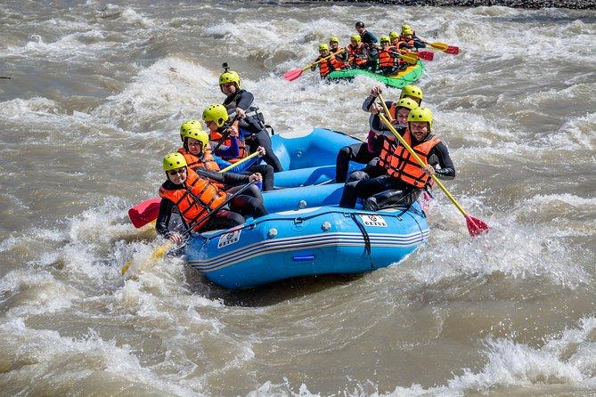Whitewater Rafting in Racha Region