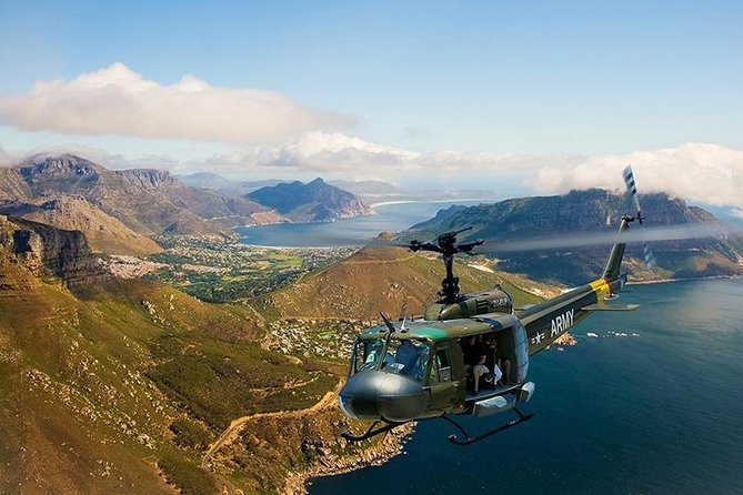 3-Day Cape Town Tour with Helicopter Ride and Wine Tasting
