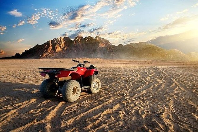 Hurghada: Quad Bike Safari, Bedouin Village & BBQ Feast