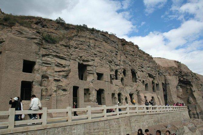 Yungang grottoes photo
