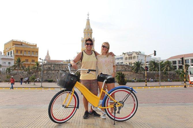 Excursão de bicicleta gratuita em Cartagena