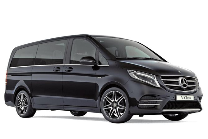 Departure Private Transfers from London City to Airport LCY in Luxury Van