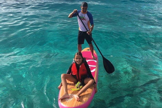 Easy Downwind Paddle and Snorkel Tour to Coco Beach