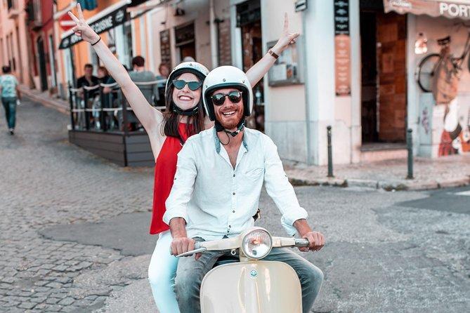 Lisbon Vespa tour